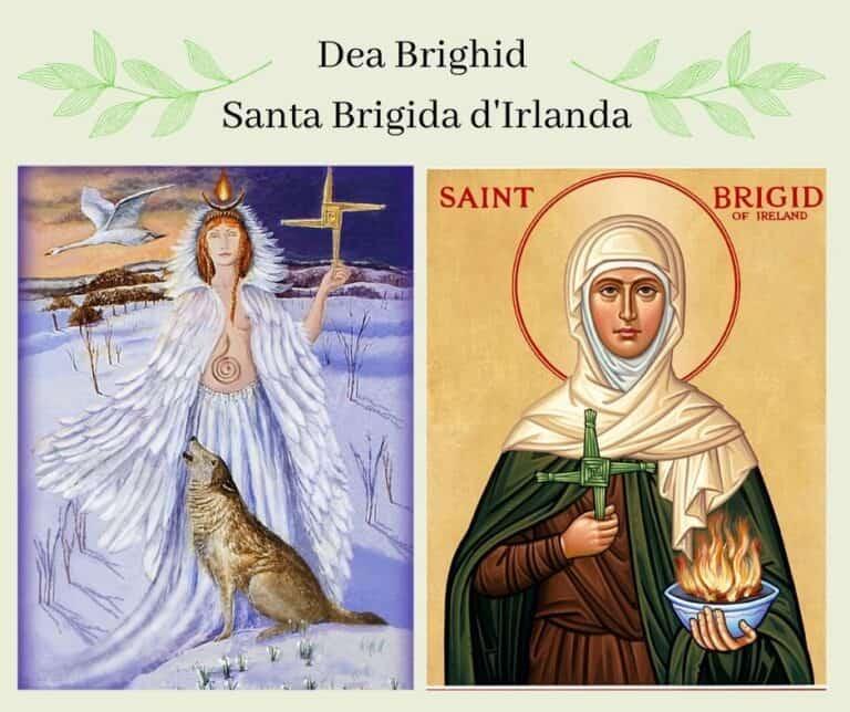 Dea Brigid e Santa Brigida: il culto del Fuoco Sacro