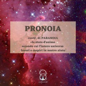 Sei pronoico o paranoico?